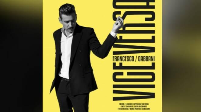 """La copertina dell'album """"Viceversa"""" di Francesco Gabbani"""