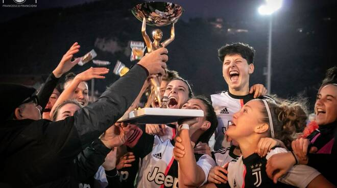 Viareggio Women's Cup, la Juve ancora campione
