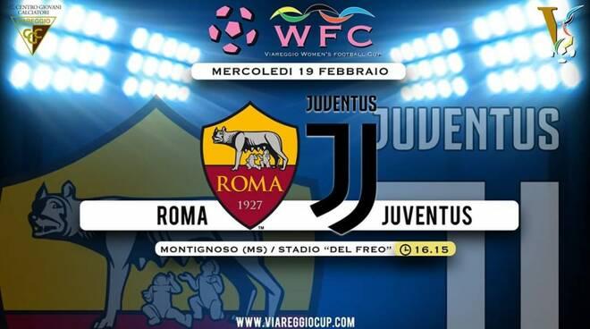 Viareggio Women's Cup, mercoledi finale Juve-Roma