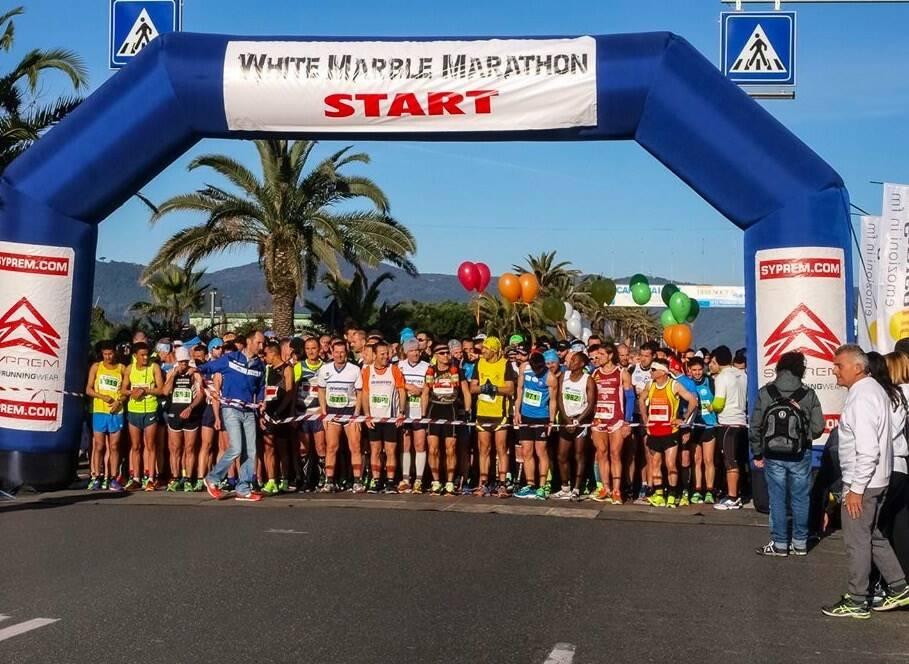 White Marbe Marathon, partenza