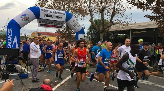 White Marble Marathon, l'anticipo
