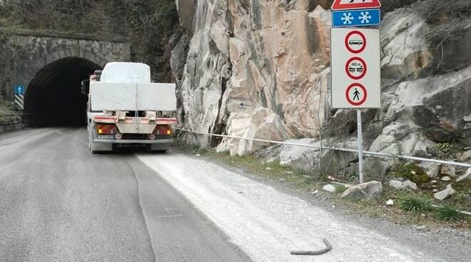 Degrado sulla strada del Tarnone