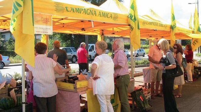 Il mercato di Coldiretti