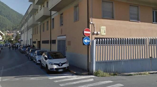 L'ex-caserma dei carabinieri di via Angelini a Massa