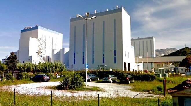 Lo stabilimento Omya di Avenza (Carrara)