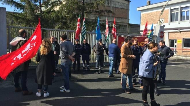 Sanac, lavoratori in sciopero