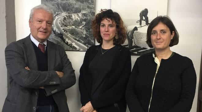 Marco Ciampolini, Federica Forti e Laura Barreca
