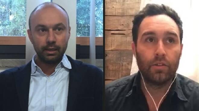 Matteo Martinelli e Diego Crocetti