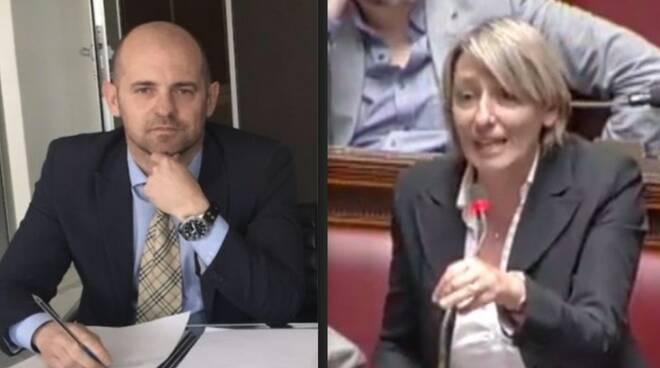 Pierlio Baratta e Martina Nardi