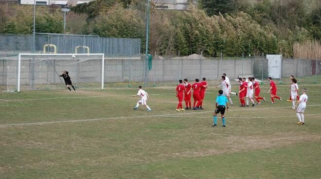 Portuale-San Marco Avenza (1-0)
