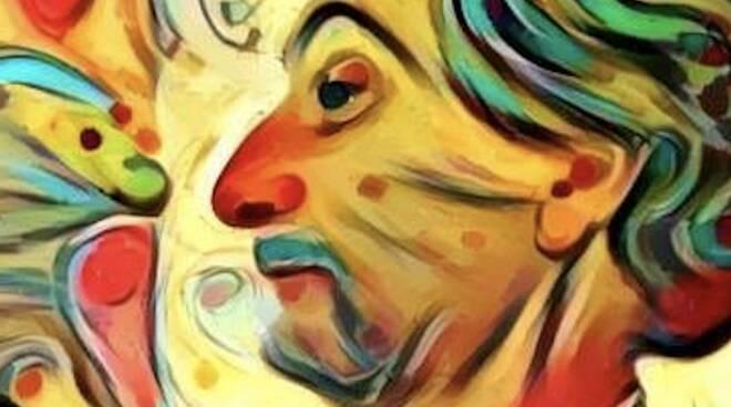 Un disegno che ritrae Renato De Rosa