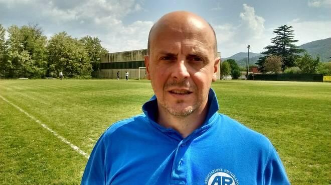 Yuri Angeli, allenatore Podenzana
