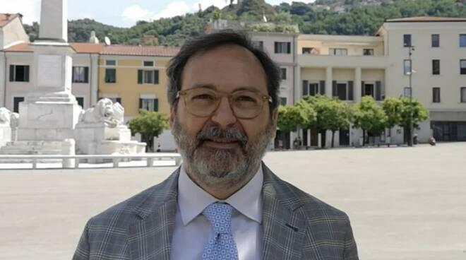 Francesco Persiani in piazza Aranci