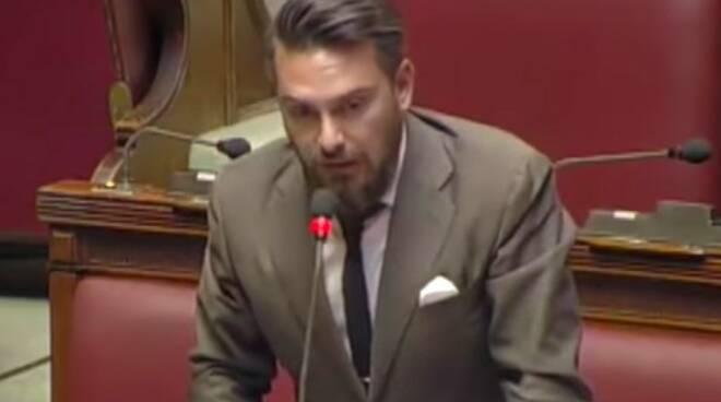 Il deputato massese del M5s Riccardo Ricciardi
