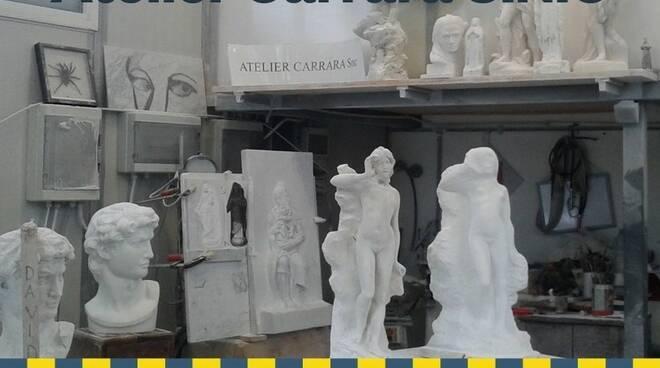 L'atelier di Andrea Lugarini