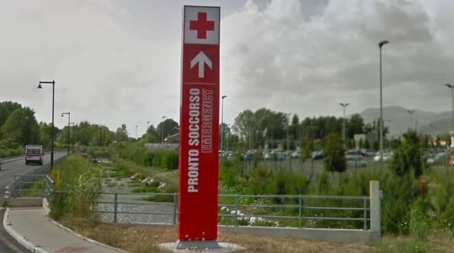 L'ingresso del pronto soccorso del Noa
