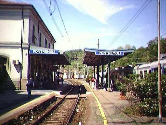 La stazione di Pontremoli