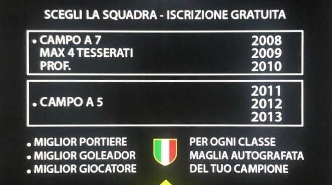 """Calcio Junior, a presto il Torneo """"La Serie A"""""""