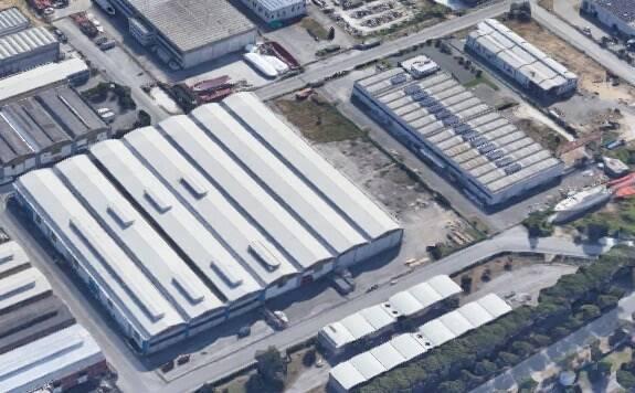 Capannoni nella zona industriale