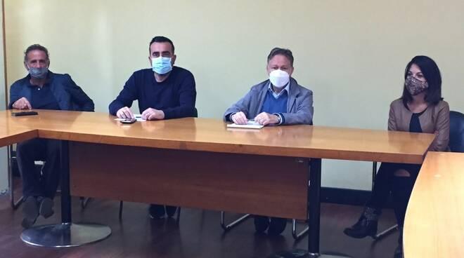 Da sinistra Giovanni Chiodetti, Roberto Cipriani, Roberto Valettini e Giada Moretti