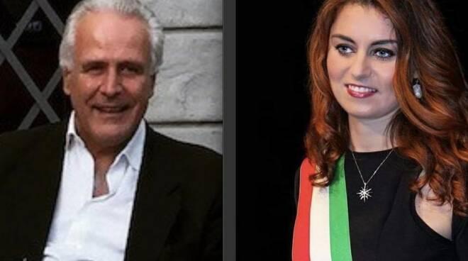 Eugenio Giani e Susanna Ceccardi