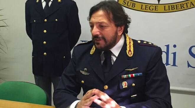 Il capo della squadra mobile Antonio Corcione