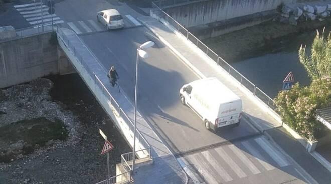 Il ponte sul Carrione ad Avenza