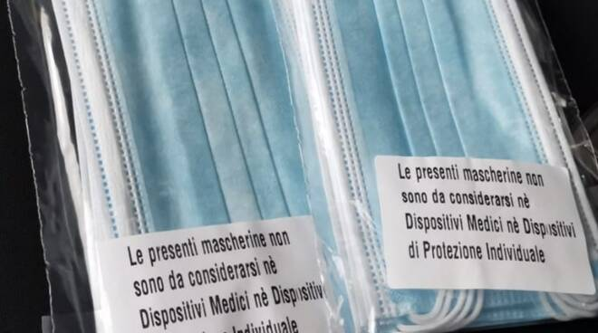 Le mascherine gratuite della Regione Toscana