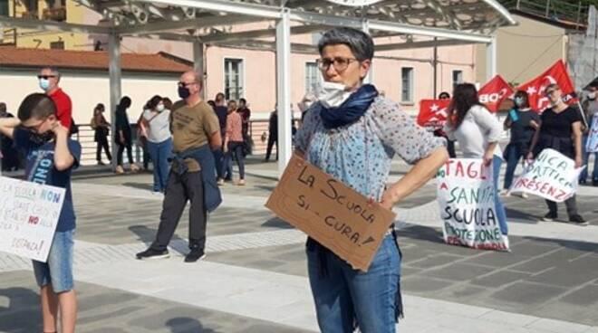 Manifestazione contro i tagli alla scuola
