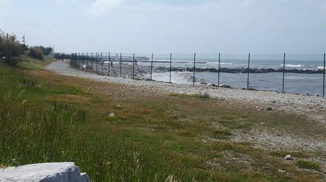 Spiaggia libera colonia Torino