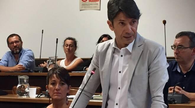 Stefano Dell'Amico, capogruppo del M5s