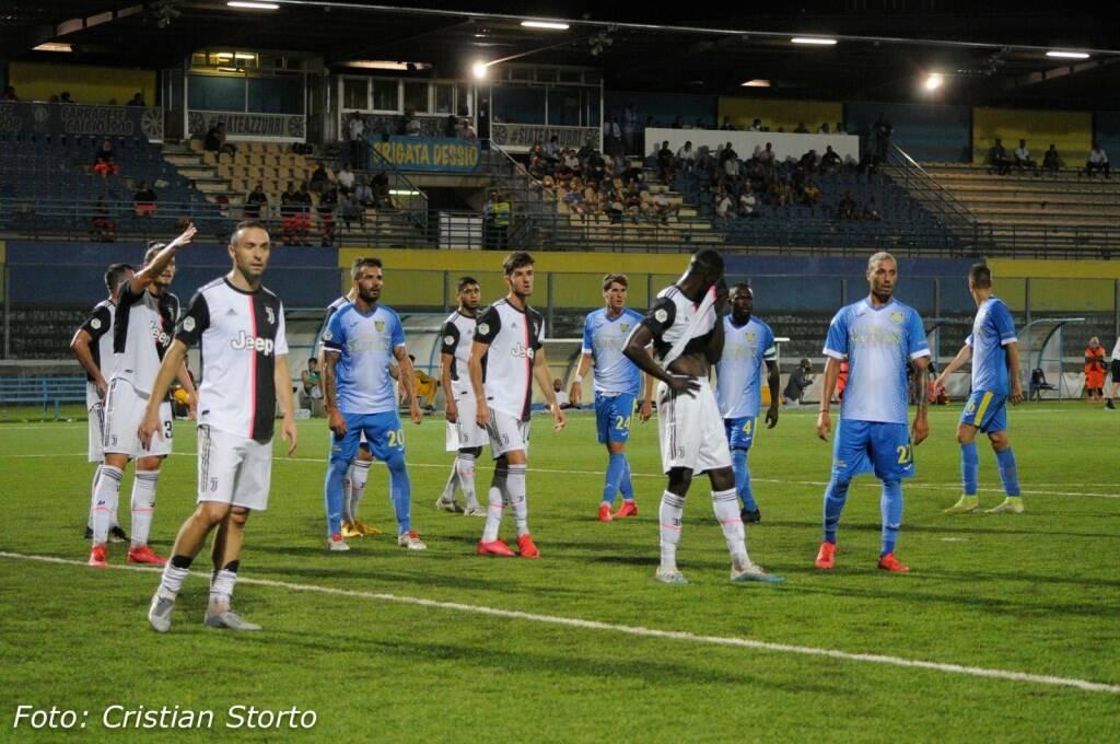 Carrarese-Juventus U23, il fotoracconto