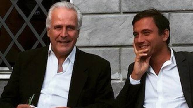 Eugenio Giani e Giacomo Bugliani