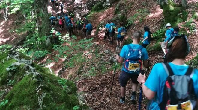 I partecipanti del Grande Trekking