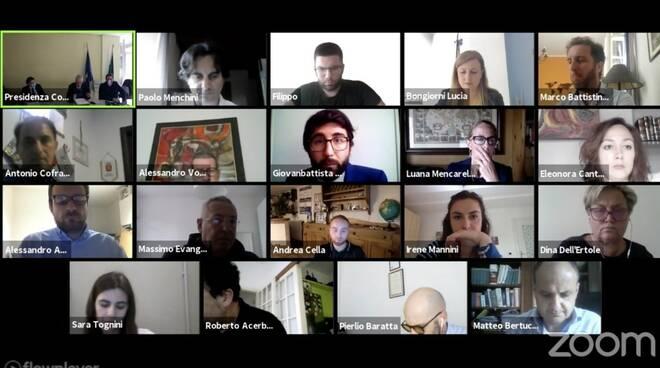Il Consiglio comunale di Massa in videoconferenza