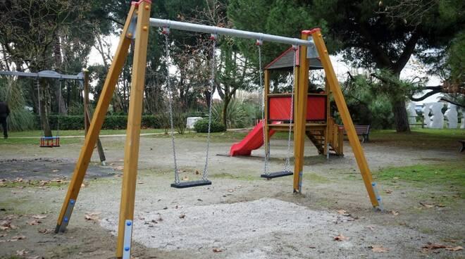 Il parco Puccinelli a Marina di Carrara