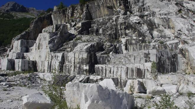 In difesa delle Apuane, cave inattive Minucciano