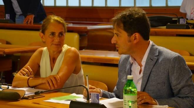 Luana Mencarelli e Paolo Menchini