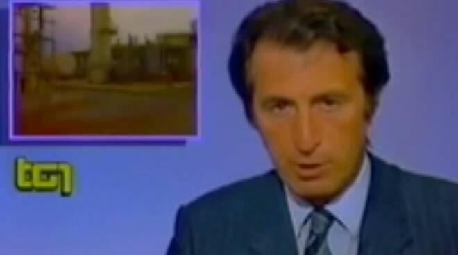 Paolo Frajese diede la notizia dello scoppio della Farmoplant