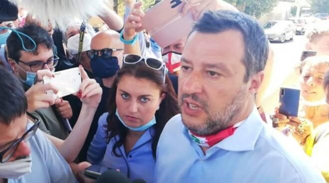 Salvini ad Albiano Magra