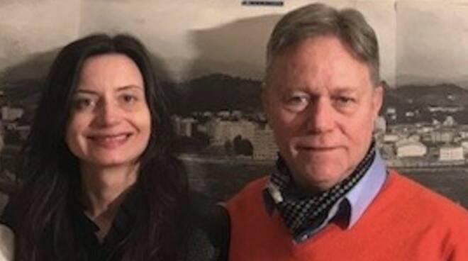 Tania Brunetti e Roberto Valettini