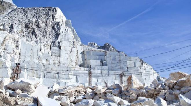 Visita alla Carrara Marble Way