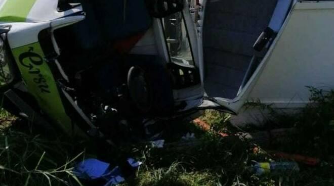 Incidente a Montignoso, Ersu, Vigili del Fuoco