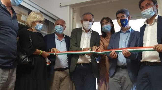 L'inaugurazione del reparto di cure intermedie al Monoblocco