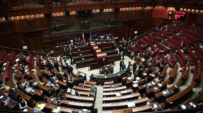 La Camera dei Deputati, un ramo del Parlamento italiano