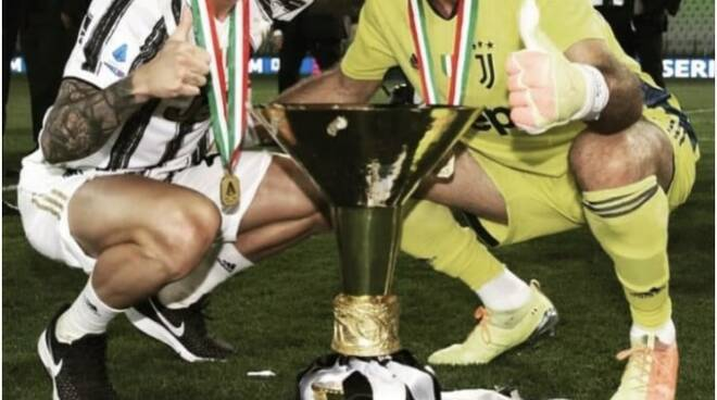 La foto postata da Gigi Buffon su Instagram