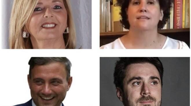Roberta Crudeli, Elisabetta Sordi, Giacomo Bugliani e Francesco Micheli