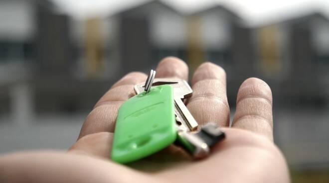 Casa, chiavi, affitto