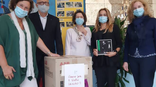 Fondazione Marmo mascherine