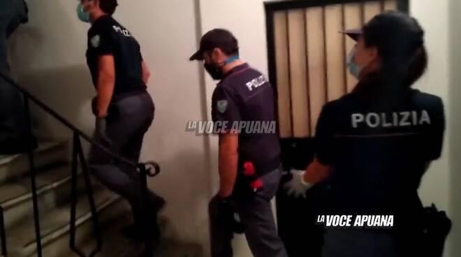 Il blitz della polizia di Stato